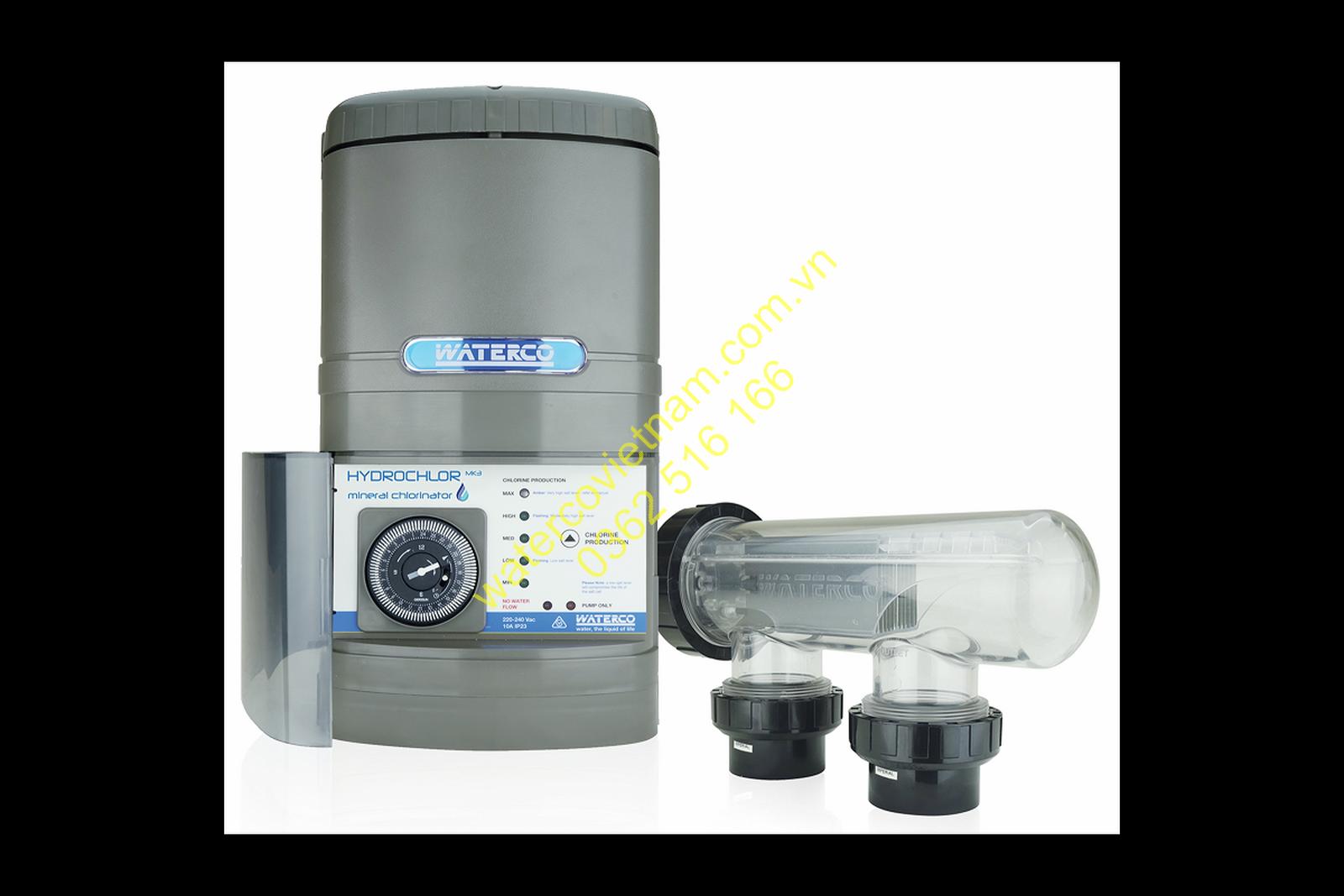 Bộ điện phân hồ bơi Waterco Hydrochlor MK3 2500