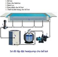 Hướng dẫn lắp đặt Heatpump Waterco cho bể bơi